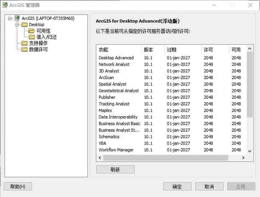 arcgis10.1 启动成功