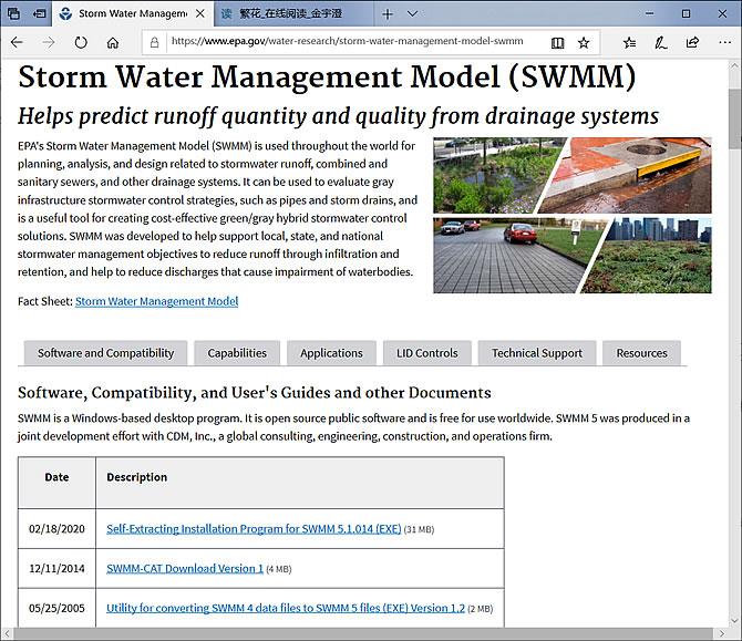 SWMM 官方网站