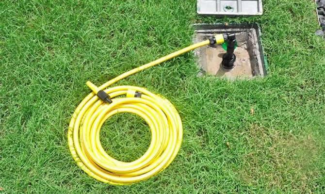 快速取水阀和连接软管