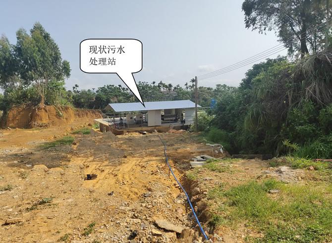 污水提升泵站选址及周边现状#1