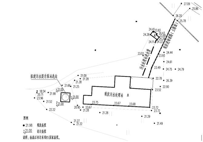 污水提升泵站选址及周边现状#2