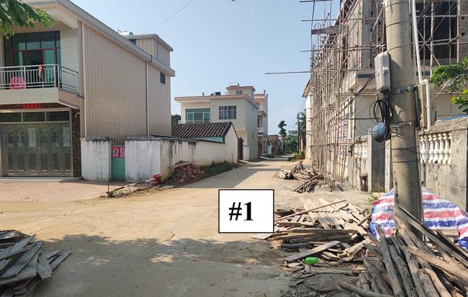 竹竿塘村庭院外道路#1