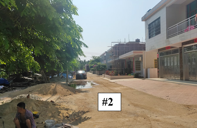竹竿塘村庭院外道路#2