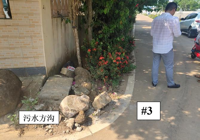 竹竿塘村庭院外道路3#
