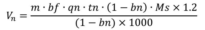 化粪池污泥容积计算公式