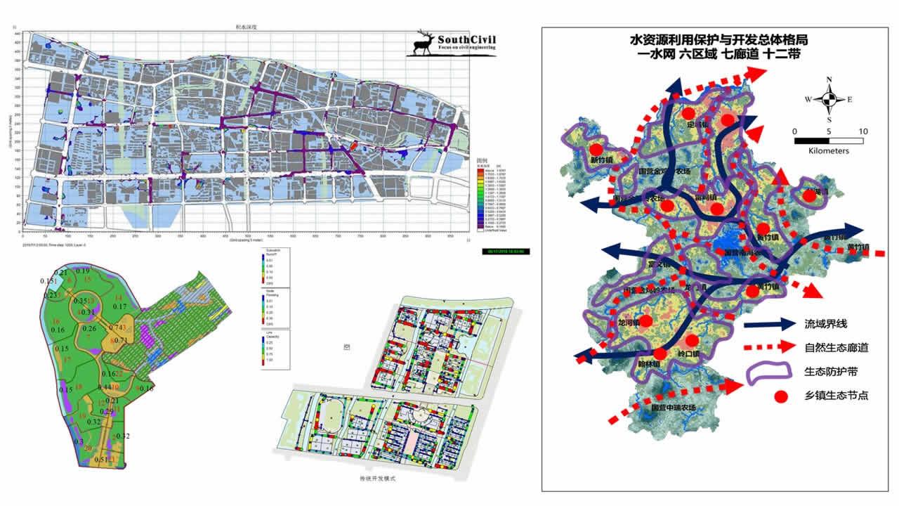 幻灯片38 海绵城市项目 规划 设计 模拟