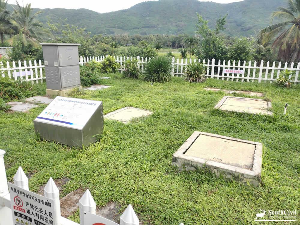 华丽村污水处理站
