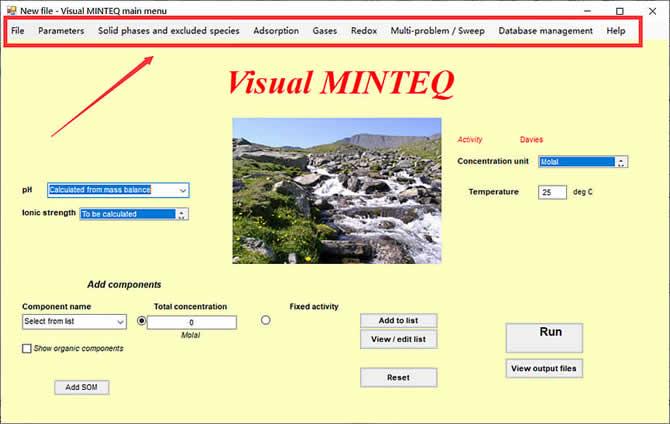 Visual MINTEQ 3.1 - 12