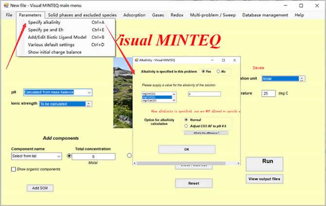 Visual MINTEQ 3.1 - 13