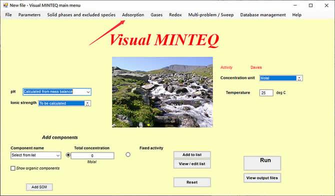 Visual MINTEQ 3.1 - 16