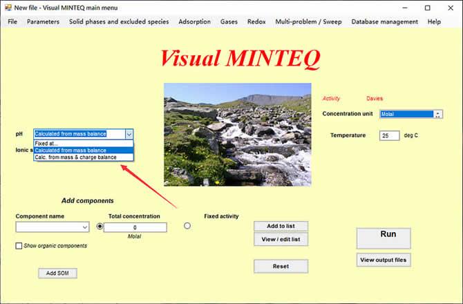 Visual MINTEQ 3.1 - 2