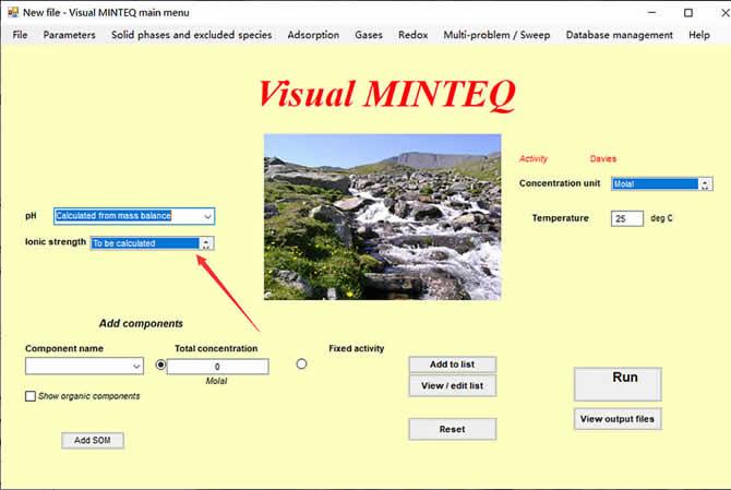 Visual MINTEQ 3.1 - 3