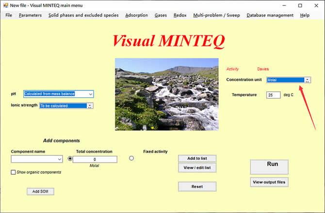 Visual MINTEQ 3.1 - 4
