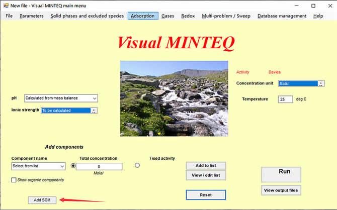 Visual MINTEQ 3.1 - 5