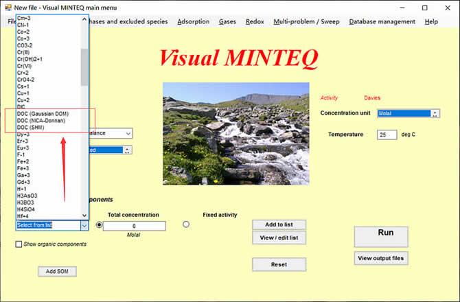 Visual MINTEQ 3.1 - 6