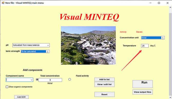 Visual MINTEQ 3.1 - 7