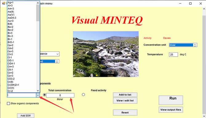 Visual MINTEQ 3.1 - 8